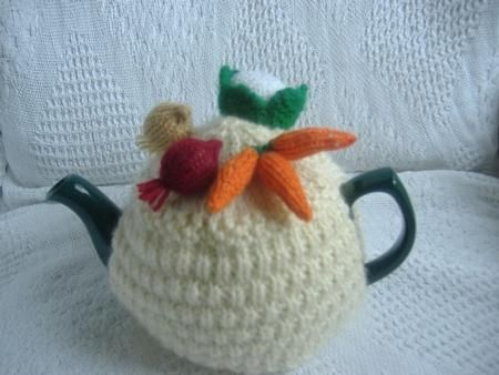Vegetable Tea Cosy Knitting Patterns