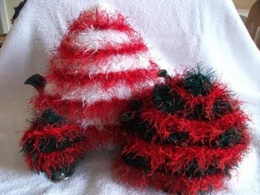Fancy Pattern Tea Cosy Knitting Patterns
