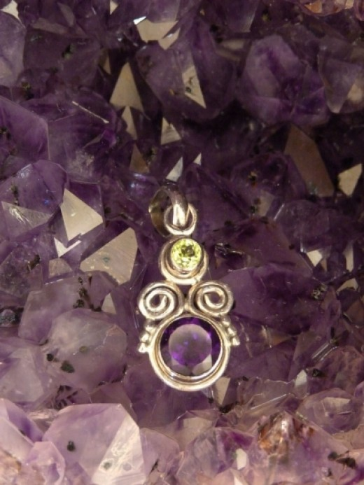 African amethyst quartz is known for its rich purple color and is usually available in a round cut.