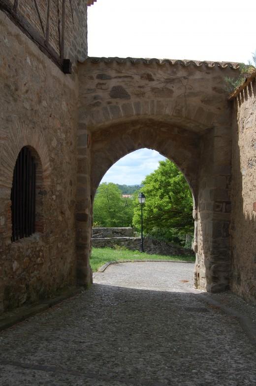 Porte d'Aval