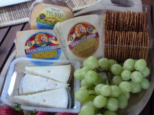 My favorite cheeses