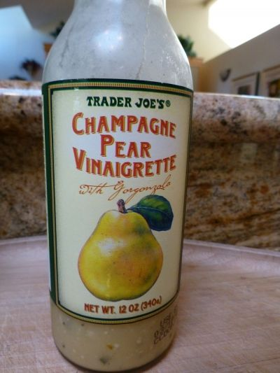 My favorite salad dressing  with gorgonzola cheese