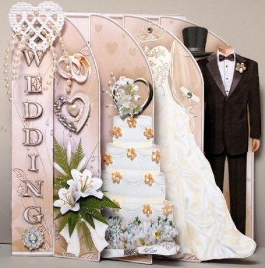 Wedding Day Slot ânâ Thread Card Kit