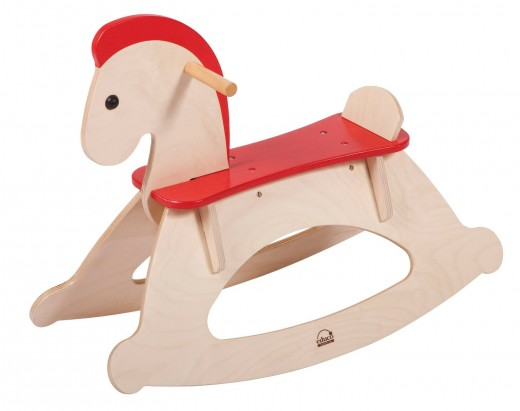 Educo Rock and Ride Rocking Horse - Best 1st birthday gift for a girl or boy