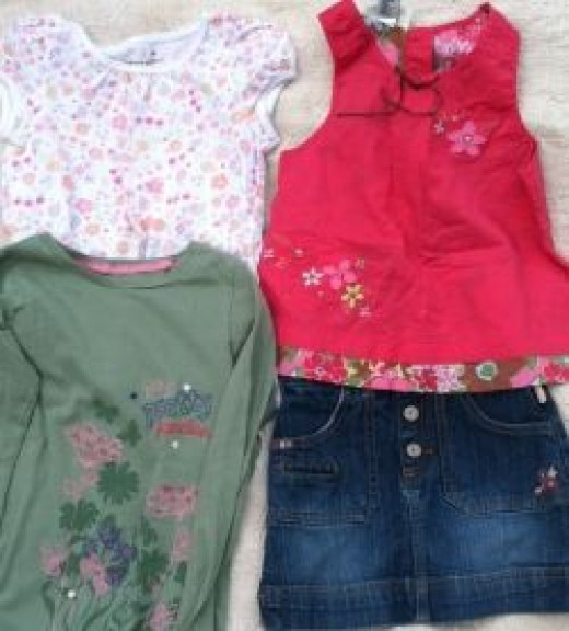 Girls Clothes made by Oshkosh