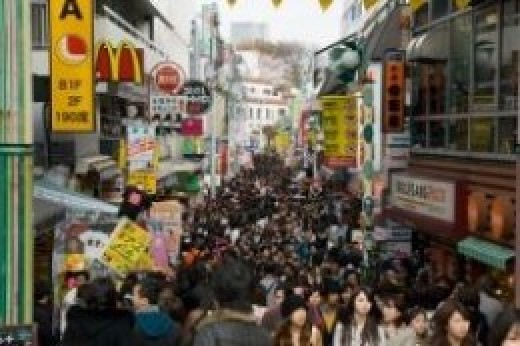 Takeshita Dori (Street) is a shopping haven for both tourist and locals.