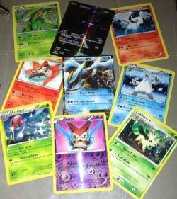 Different Pokemon cards for different people!