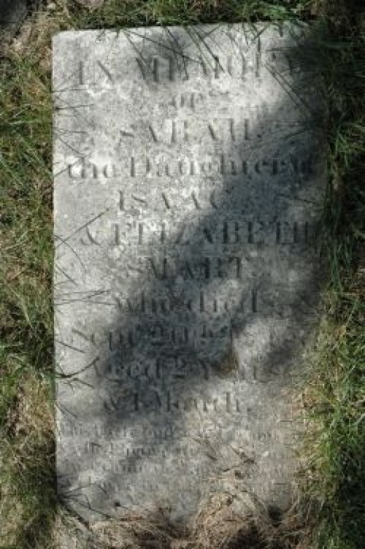 This is the real grave stone.
