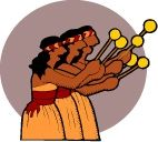 Maori ladies from the Microsoft Clipart site.