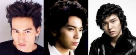The 3 hotties acting as Domyouji Tsukasa in the Taiwan, Japanese & Korean version of HYD drama
