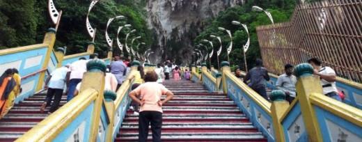 Batu Caves - The Climb