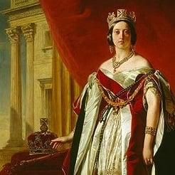 Portrait of Queen Victoria in 1843.