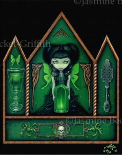 """Absinthe"" by Jasmine Becket-Griffith"
