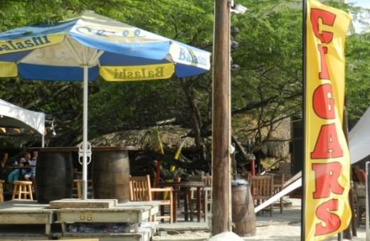 Beachside restaurants