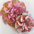 Kaleidoscope Paper Rosette How To