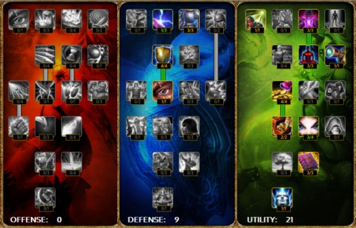 Sona League Of Legends Runes Golfclub