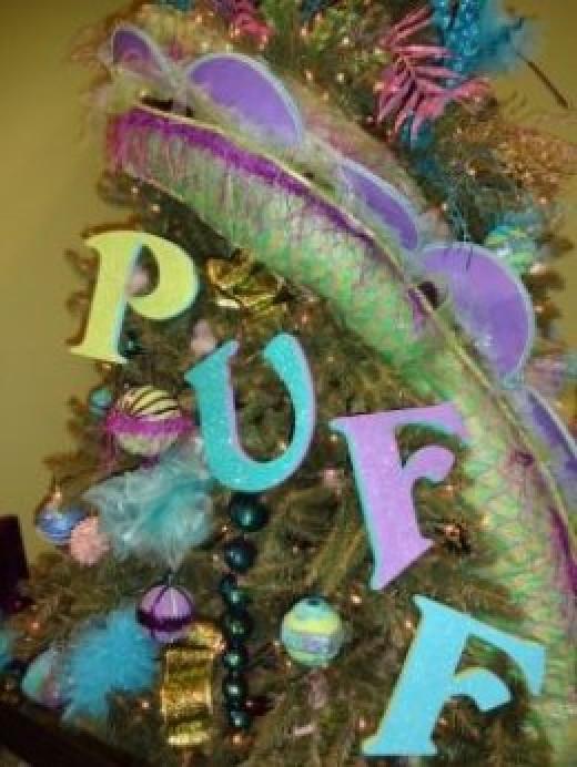 Puff the Magic Dragon Themed Tree