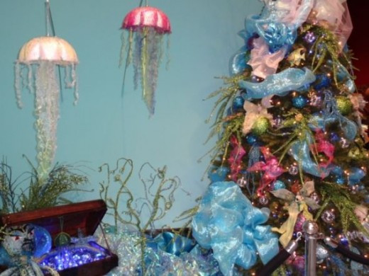 Under the Sea (The Little Mermaid) Vignette from Festival of Trees, Orlando Museum of Art