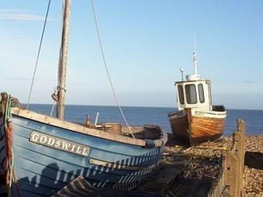 The Sea At Deal, Kent