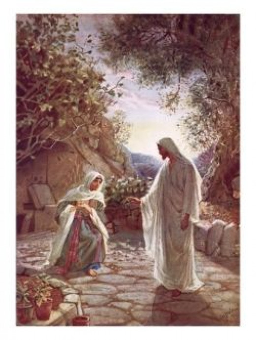 Easter story- at the tomb