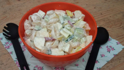 Appetizing Apple Pasta Salad Recipe