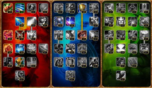 Xin Zhao Masteries