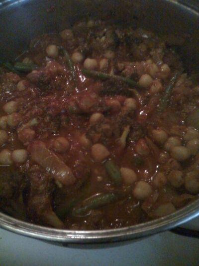 vegetarian curry