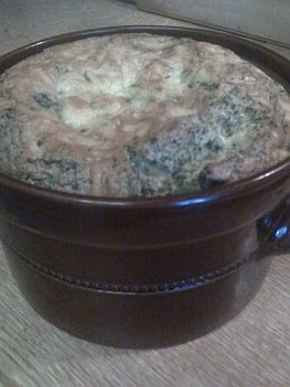 The finished souffle