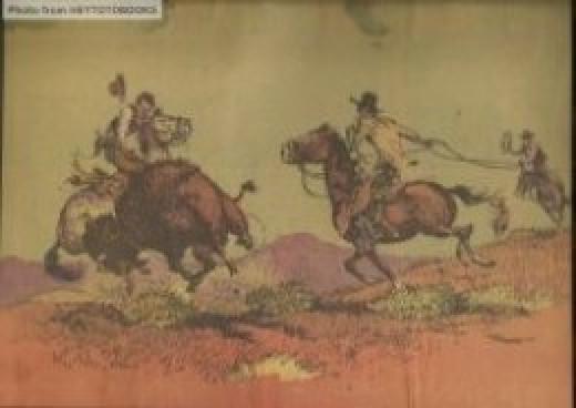 "Fred Harman's ""On the Range"" (April 11, 1937)"