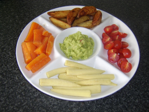 Vegetarian Platter for Two