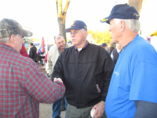 Veterans at Pendleton Town Takeover