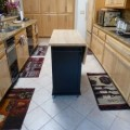 Expand storage and counter space with kitchen island cart
