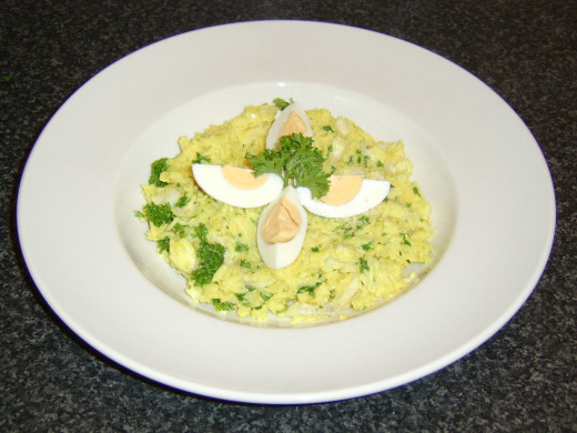 Kedgeree Ready for the Table