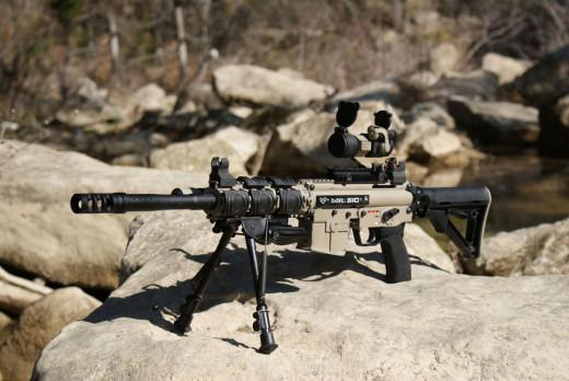 MilSig SRT Desert Ops Custom Sniper