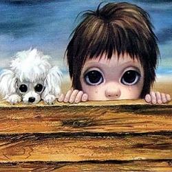 """Beachhead"" by Margaret Keane, 1963"