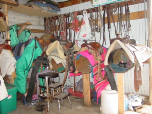 Our old tack room