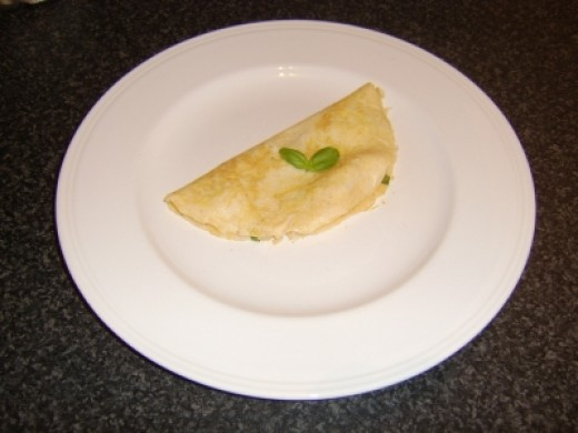 Incredibly SImple Roast Chicken Omelette