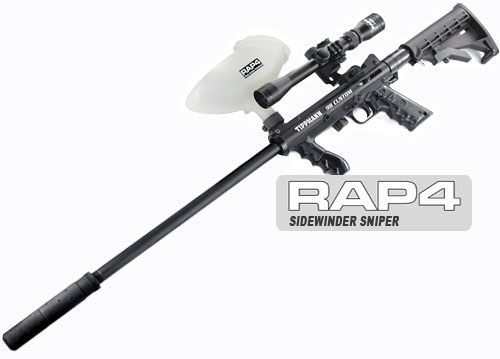 Tippmann 98 Custom with the Sidewinder Sniper Kit