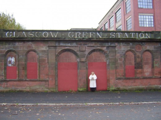 The Five Dollars Visit what Little Remains of the Old Glasgow Green Station