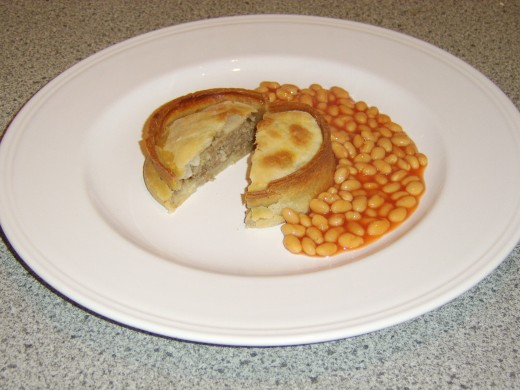 A Scotch Pie and Beans