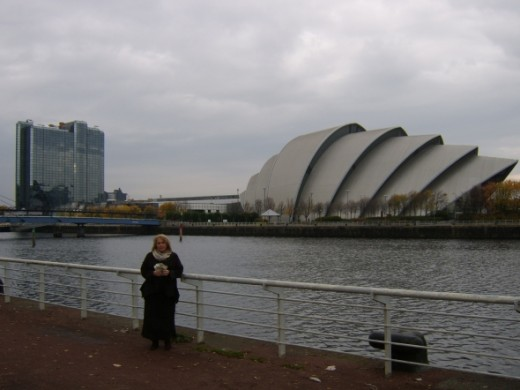 """The Clyde Auditorium - commonly referred to as, """"The Armadillo,"""" due to its appearance - is located on the northern bank of the River Clyde, immediately adjacent to the Scottish Exhibition and Conference Centre (SECC.) It plays host to a great many t"""