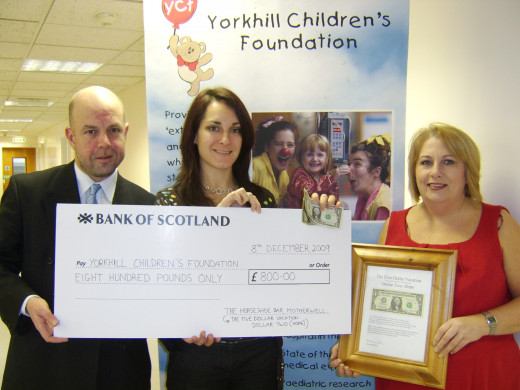 The Presentation of the 800.00 at Yorkhill Children's Hospital