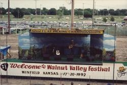 The Main Stage at the 21st WVF in 1992.