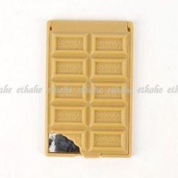 chocolate compact mirror