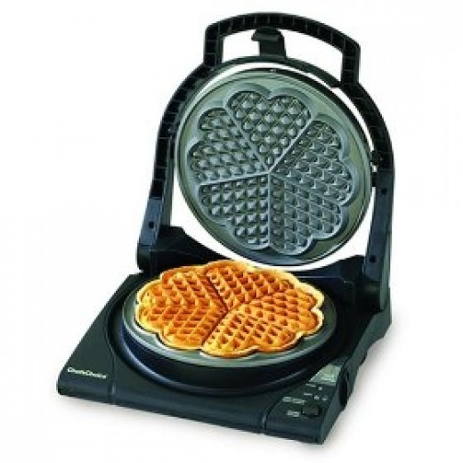 Traditional Five of Hearts Waffle Maker