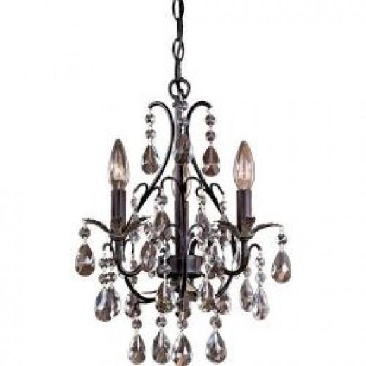 Crystal chandeliers Metal chandeliers Beaded and shell chandeliers Murano glass chandeliers Arts & Crafts chandeliers (mission) Antler chandeliers Candle chandeliers Plastic chandeliers