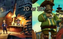 2d point and click vs 3d adventure games