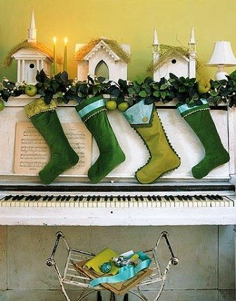 May be green stockings this year?