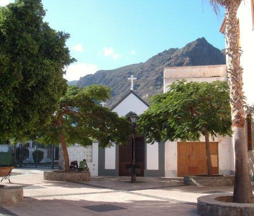 Plaza in Los Silos