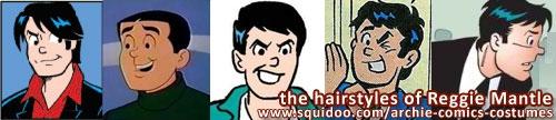 Reggie Mantle's Hair Styles